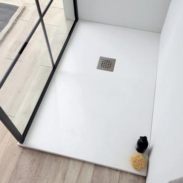 Plato de ducha de resina de mármol Plan Colacril