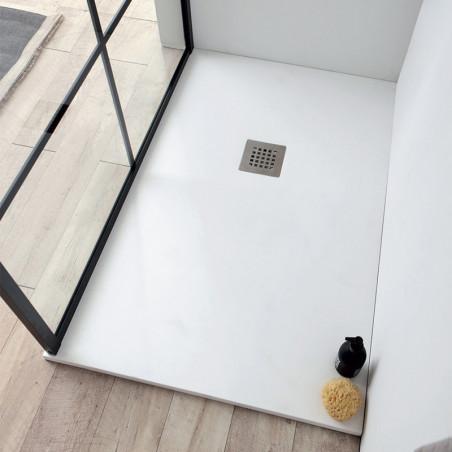 Receveur de douche en résine marbre Plan Colacril