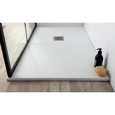 Receveur de douche en résine marbre Plan H 2,8 cm
