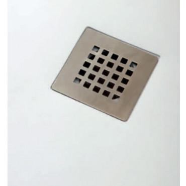 Plan drain de receveur de douche en résine marbre