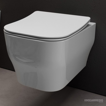 Hänge-WC ohne Rand Synthesis Eco Olympia Ceramica