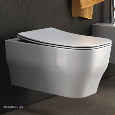 cuvette de toilette sans rebord Synthesis Eco Olympia Ceramica