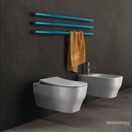 sanitaire pour salle de bain sans monture Synthesis Eco Olympia Ceramica