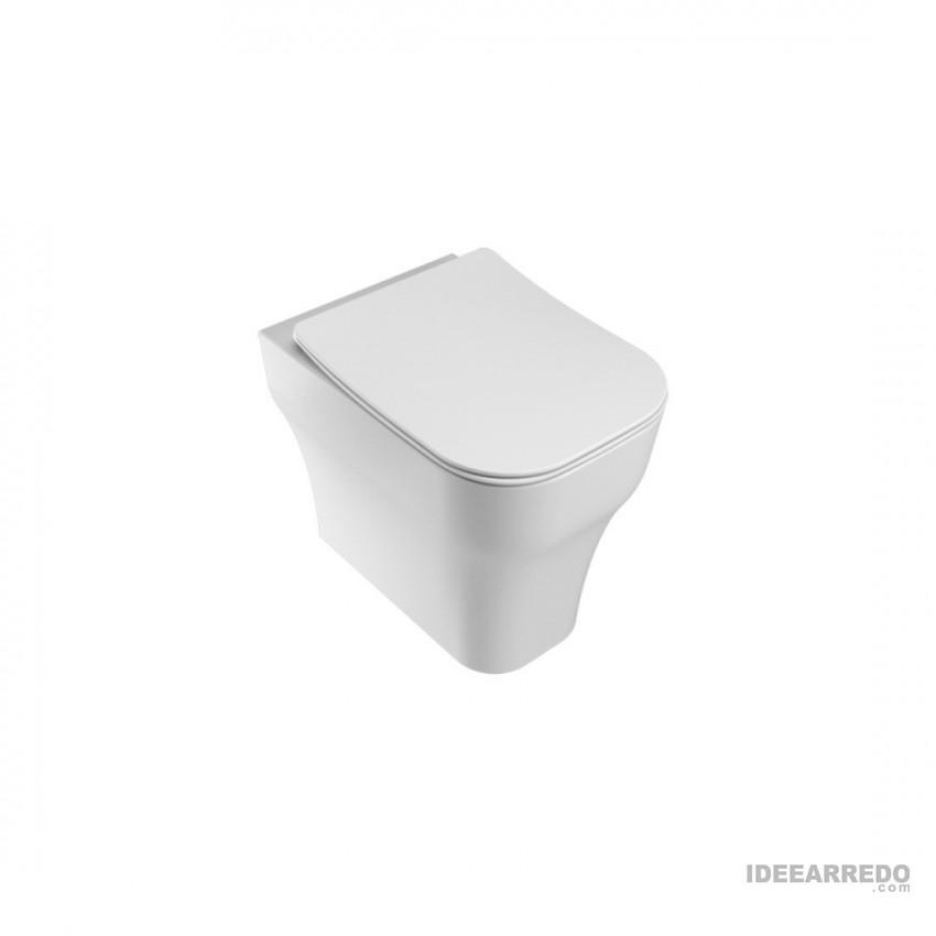 wc con scarico traslato Synthesis Eco Olympia ceramica