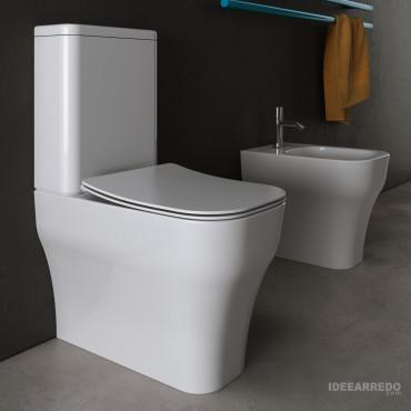 Sanitari bagno monoblocco Synthesis Eco Olympia Ceramica