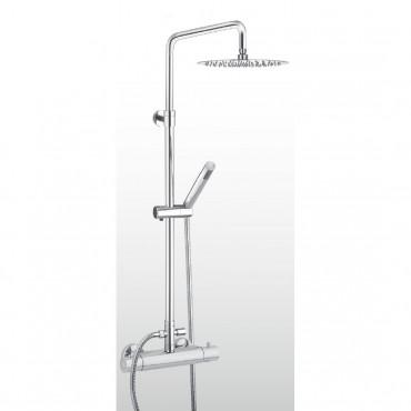 Duschsäule mit Thermostatmischer Gaboli Fratelli Rubinetteria AD-T360