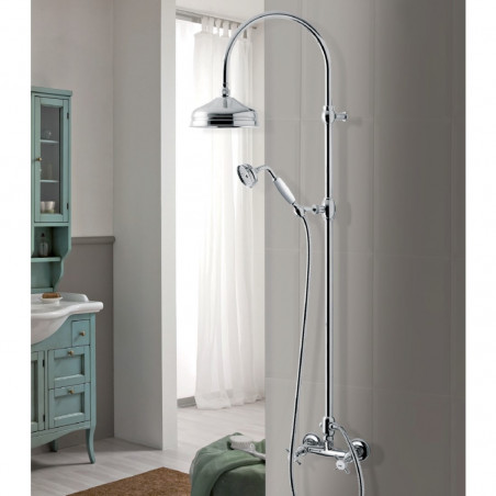 shower column with mixer LI360 Gaboli Fratelli Rubinetteria