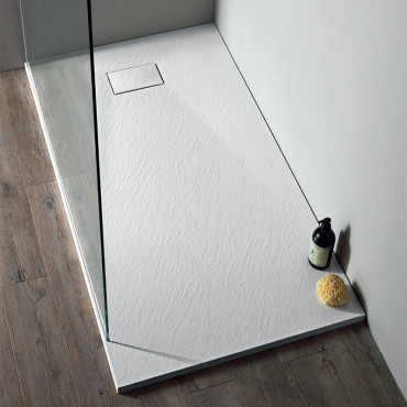Piatto doccia in SMC poliestere ECO bianco Colacril