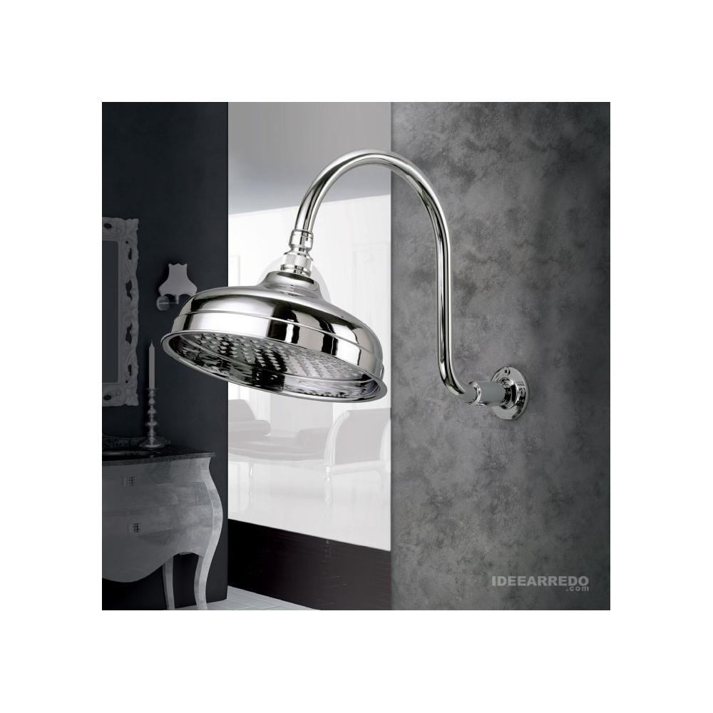 Soffione doccia retro con braccio DI503O Gaboli Fratelli Rubinetteria
