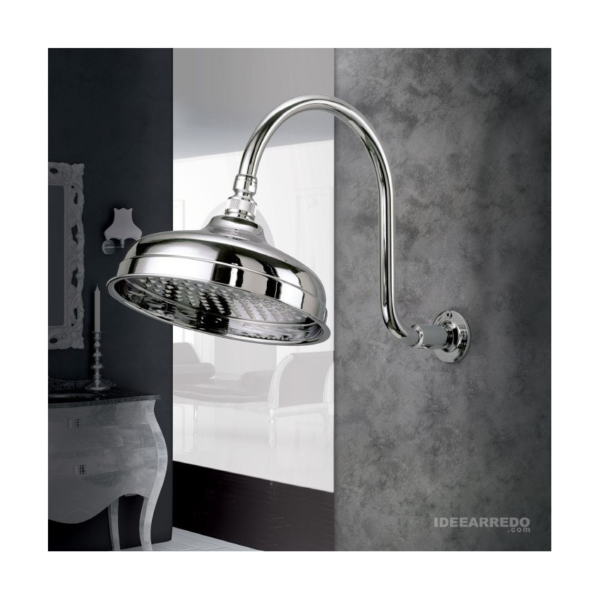 Retro shower head with arm DI503O Gaboli Fratelli Rubinetteria