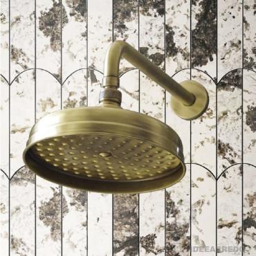 Bronze shower head Gaboli Fratelli Rubinetteria LI503