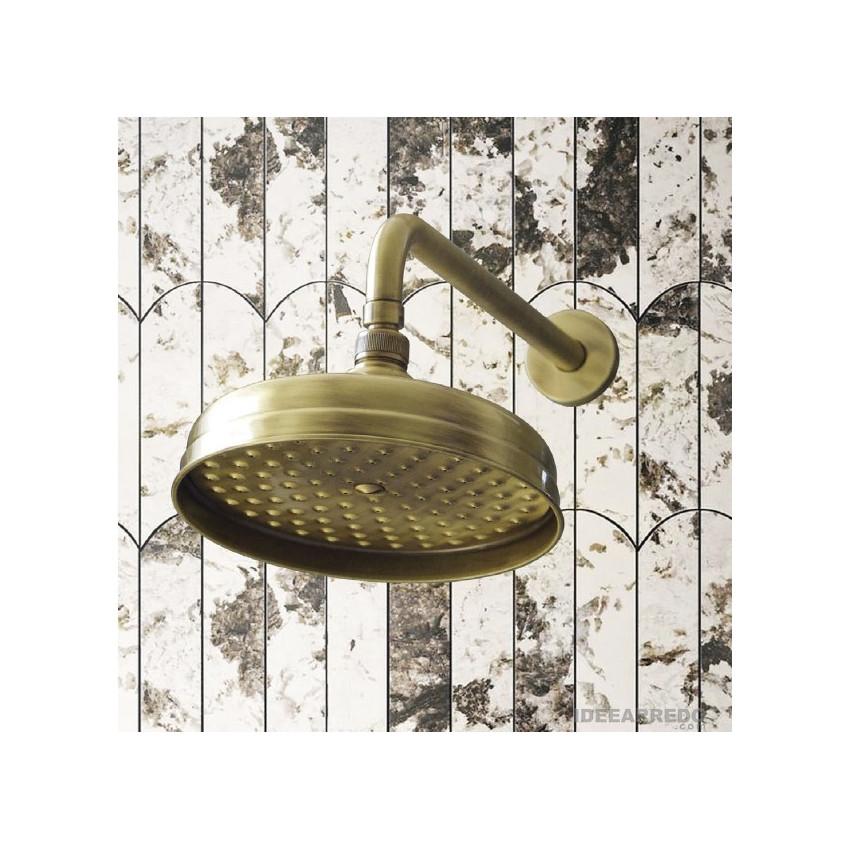 Soffione doccia bronzo Gaboli Fratelli Rubinetteria LI503