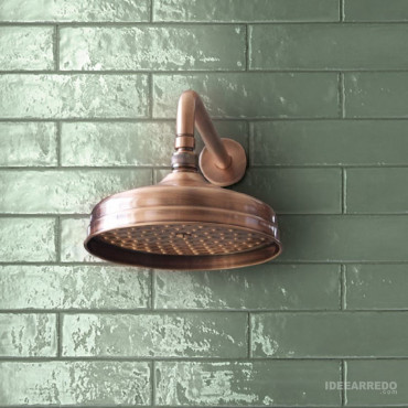 soffione doccia in rame Gaboli Fratelli Rubinetteria LI503