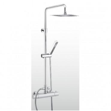 Columna de ducha termostática AD-Q360 Gaboli Fratelli Rubinetteria