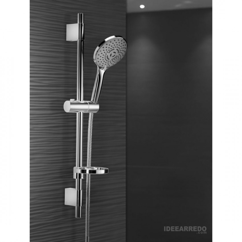 shower rail with KY500 shower head Gaboli Flli Rubinetteria