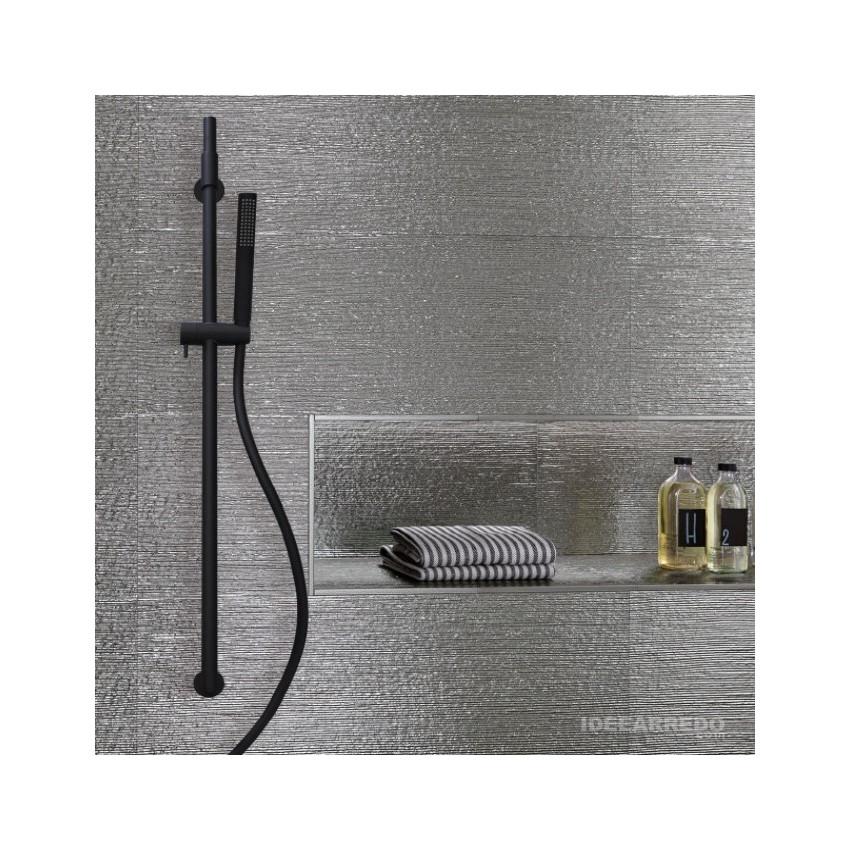 Saliscendi doccia nero AI500 Gaboli Fratelli Rubinetteria