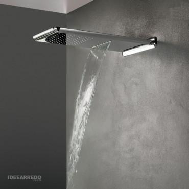 soffione doccia pioggia e cascata MI508 Gaboli Fratelli Rubinetteria