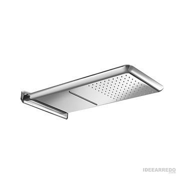 soffione doccia in acciaio MI508 Gaboli Fratelli Rubinetteria