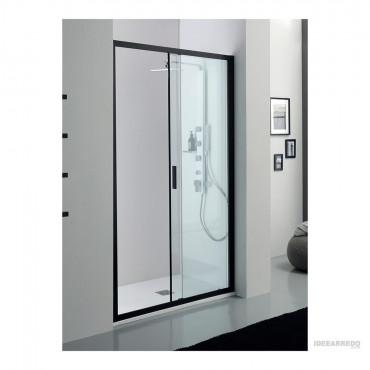 Box doccia nicchia nero con anta scorrevole PSCRAPID Colacril