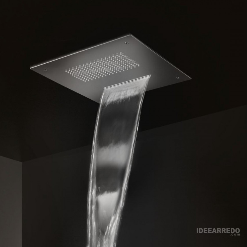 Square waterfall and rain shower NS506 / 38