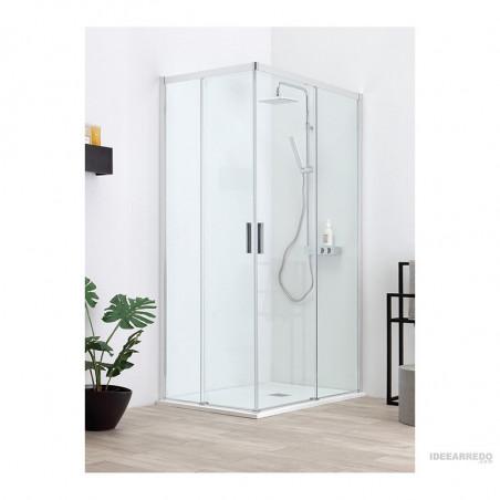 Box doccia scorrevole cabina doccia ad angolo QUICK Colacril