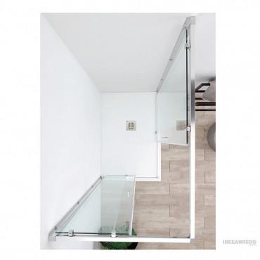 Cabina doccia ante scorrevoli angolare QUICK Colacril