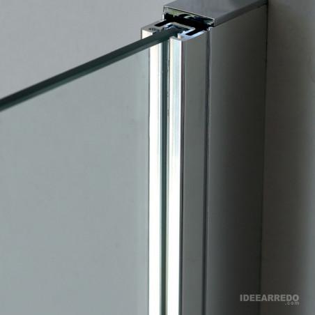 dettaglio vetro 8 mm box doccia walk in 8PAR53 Colacril