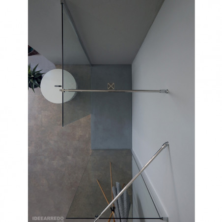Cabina doccia walk in due vetri fissi 8PAR53 Colacril