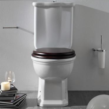 WC mit integriertem Spülkasten bietet