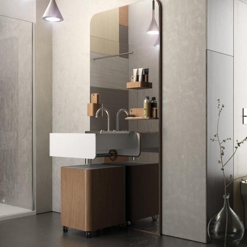 lavabos particuliers - salles de bains particulières - design moderne par Olympia