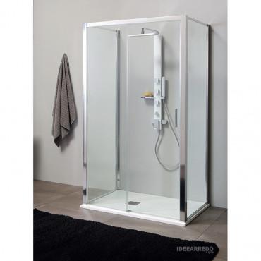 3-seitige Duschkabine mit Schiebetüren PSCQUICK Colacril