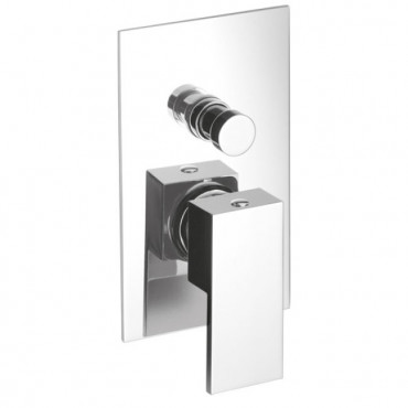 Built-in shower mixer with...