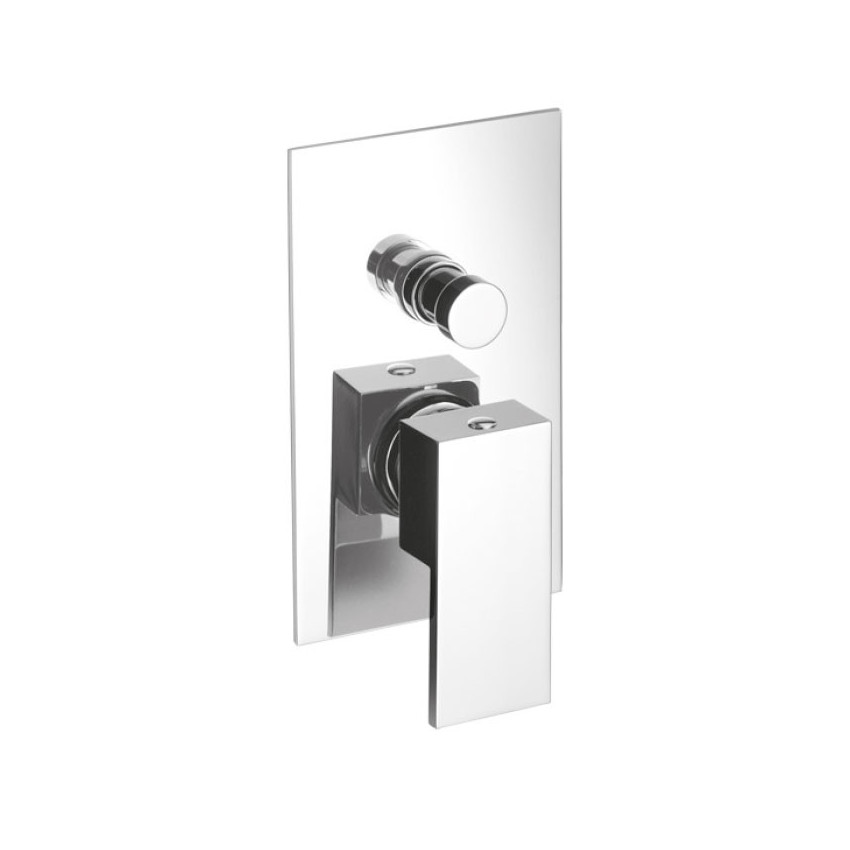 Built-in shower mixer with diverter Open Space 3430 Gaboli