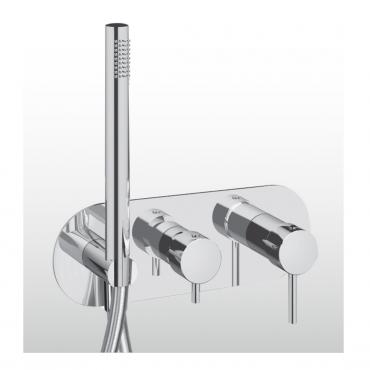 Miscelatore doccia con deviatore Heos 3085 Gaboli Fratelli rubinetteria