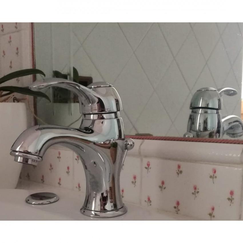 rubinetti classici per bagno Gaboli Fratelli rubinetteria - serie Syria maniglia Syria