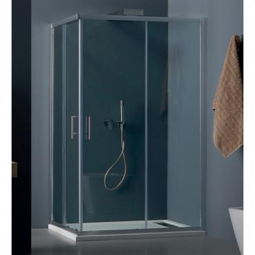 Box doccia rettangolare scorrevole, cabina doccia design Eco Colacril
