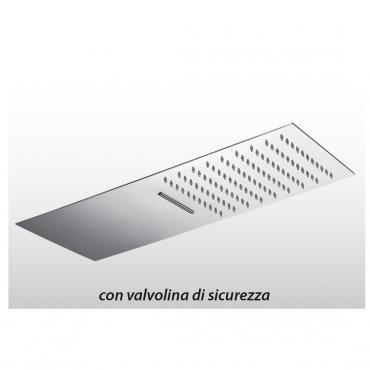 Soffione doccia con cascata QU508 Gaboli Fratelli Rubinetteria