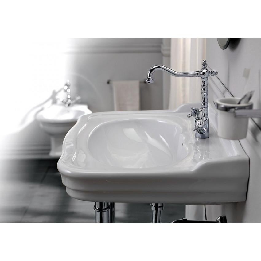 lavabo de salle de bain classique 70 Impero Olympia Ceramica