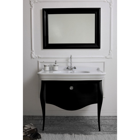 bathroom sink with classic cabinet 70 Impero Olympia Ceramica
