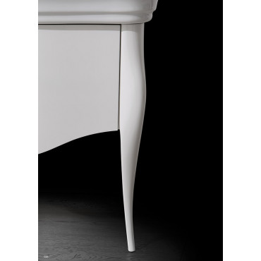 washbasin with classic cabinet 70 Impero Olympia Ceramica