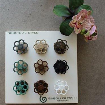 colorazioni industrial chic Bloom Gaboli Fratelli rubinetteria