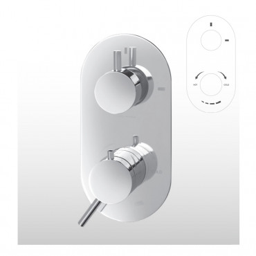 Thermostat-Dusche 2329 Gaboli Fratelli Rubinetteria