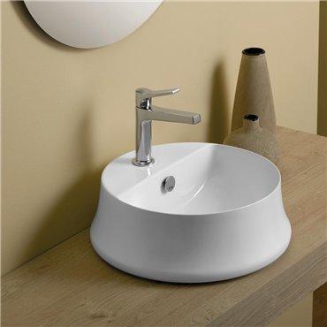 lavabo da appoggio con foro rubinetto SH03 Sharp Simas