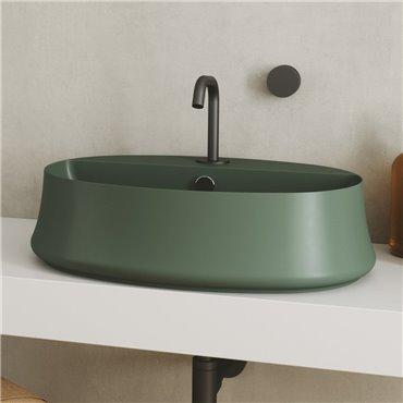 Lavabo verde SH05 Sharp Simas