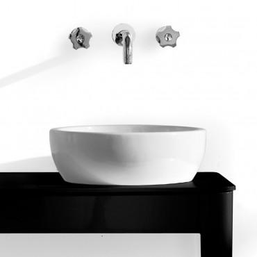 Lavabo da appoggio tondo 41 Olympia Ceramica