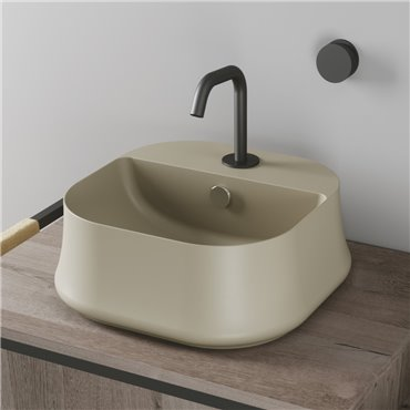 SH07 Sharp Simas beige Waschbecken