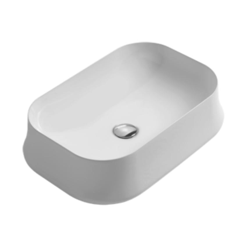 lavabo rettangolare da appoggio SH08 Sharp Simas