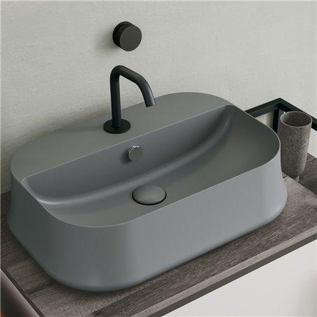 lavabo bagno grigio SH09 Sharp Simas