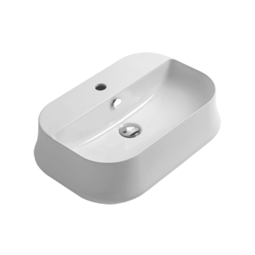 lavabo in ceramica da appoggio SH09 Sharp Simas