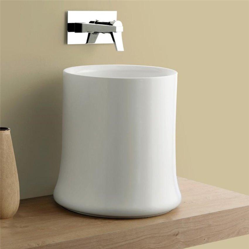 lavabo da appoggio design SH10 Sharp Simas